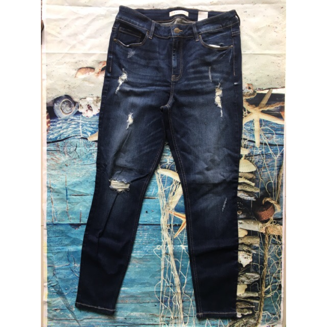 Quần jeans Eunina xuất xịn - big size