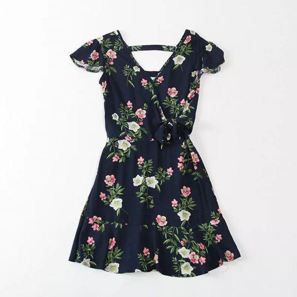 hot trend váy hoa