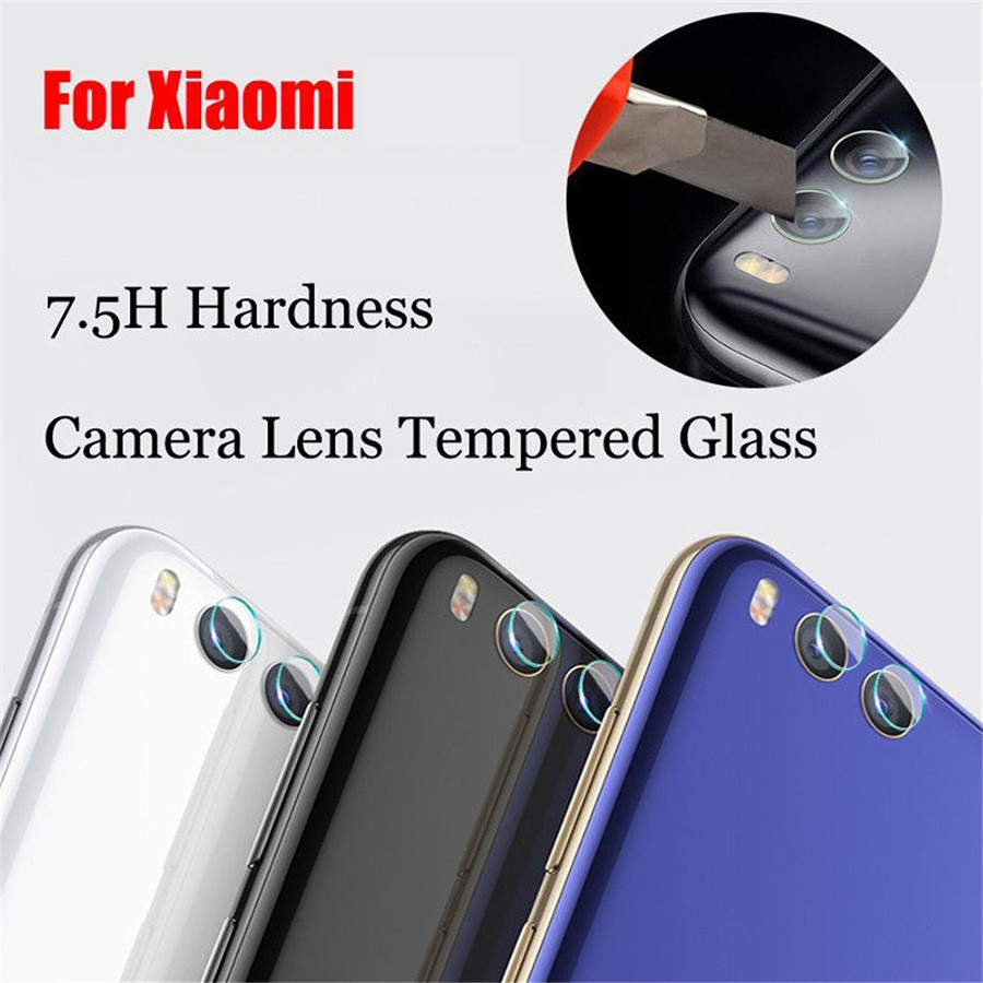 Back Camera Lens Protector Cover for Xiaomi Mi 6 5 5s Plus Max 3 Tempered glass