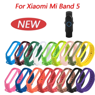 Hình ảnh Silicone Straps For Mi Band 5 Strap soft Replacement Bracelets for Xiaomi mi band 5 Bracelet for Miband 5 nfc sport Wrist band