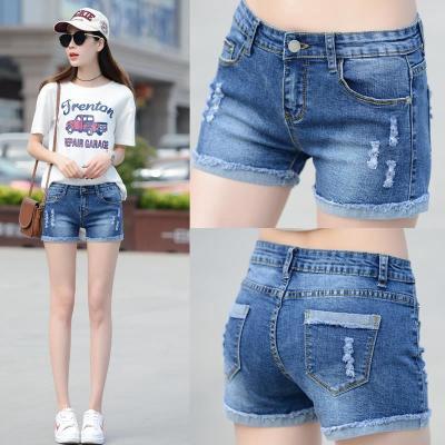 Quần jean ngắn thời trang mùa hè hàn quốc cho nữ