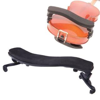 love* 3/4 4/4 Rubber Violin Shoulder Rest Adjustable Support for Height Angle Black Violin Parts