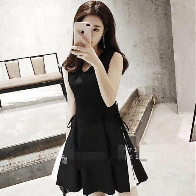 Đầm đen mắc cáo size S