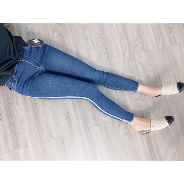 [ Mẫu mới ]Quần jean sọc bên hông