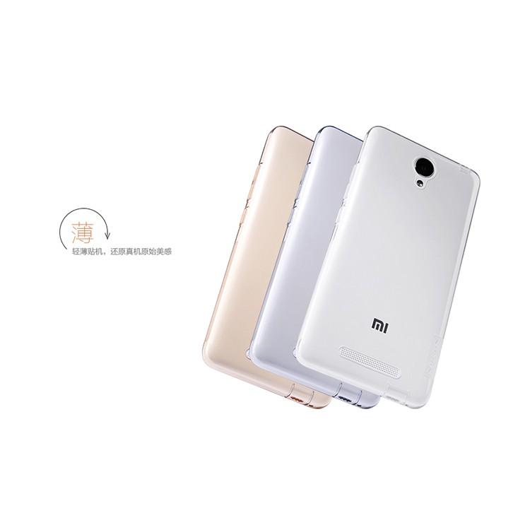 Ốp lưng silicon xiaomi redmi note 2 chính hãng của xiaomi (hộp giấy)