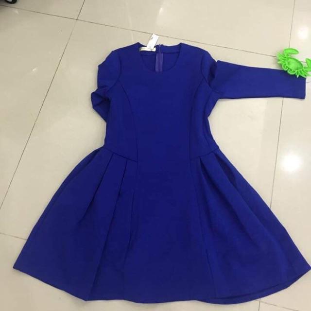 váy chất vải dày dặn