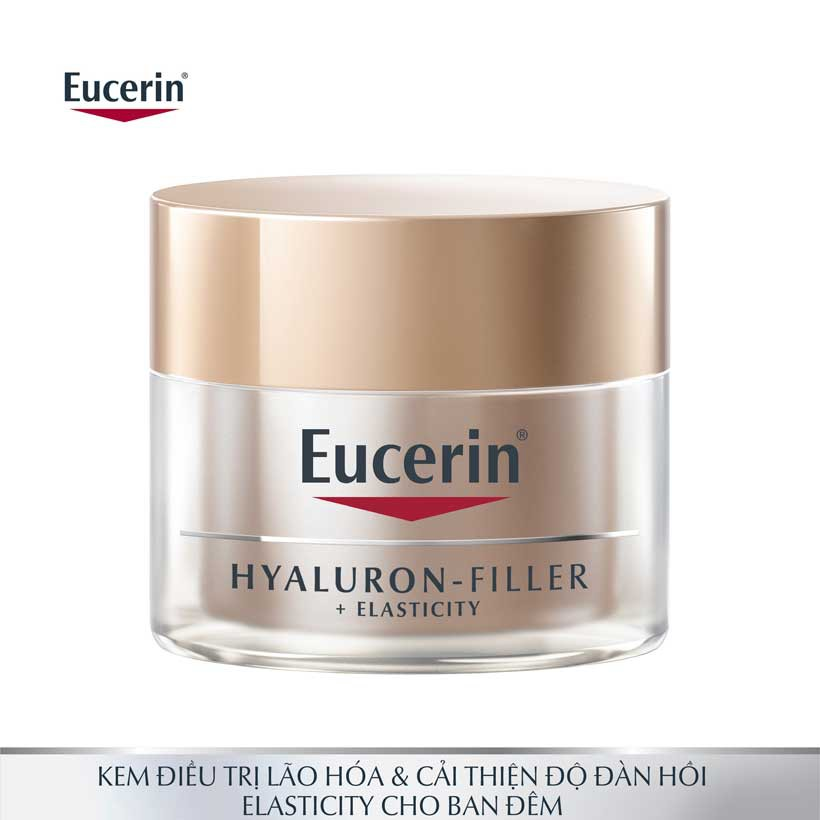 Kem dưỡng lão hóa da ban đêm Eucerin Hyaluron Filler Elasticity Night 50ml