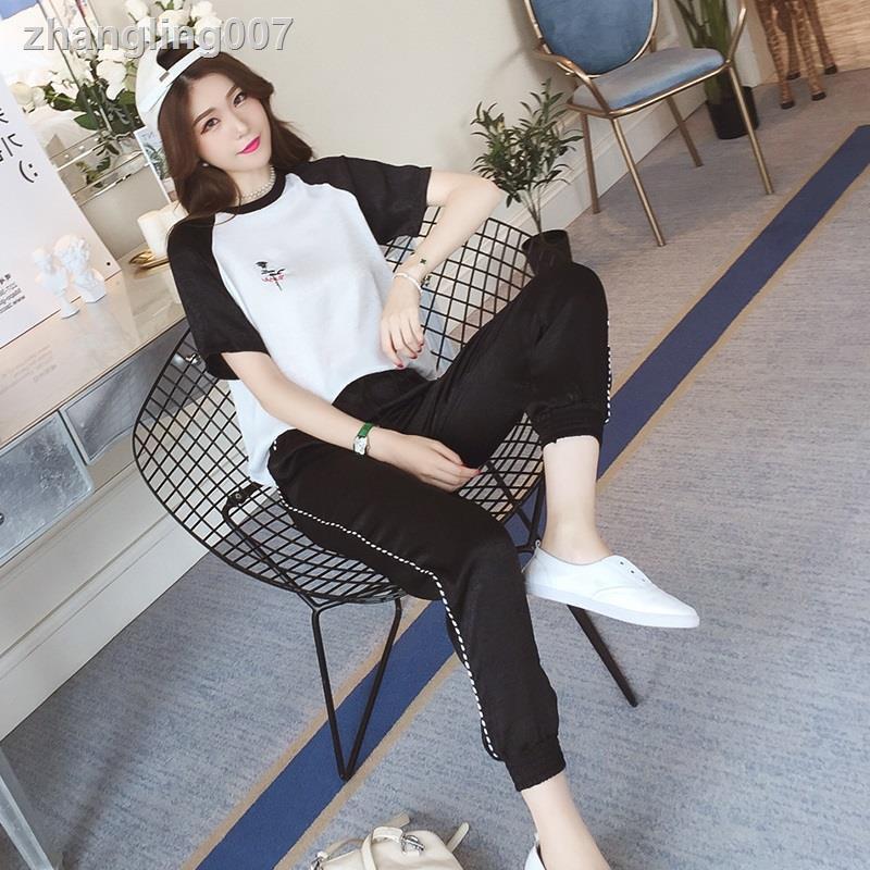 Bộ Áo Voan Ngắn Tay + Chân Váy Xinh Xắn Dành Cho Nữ 2019