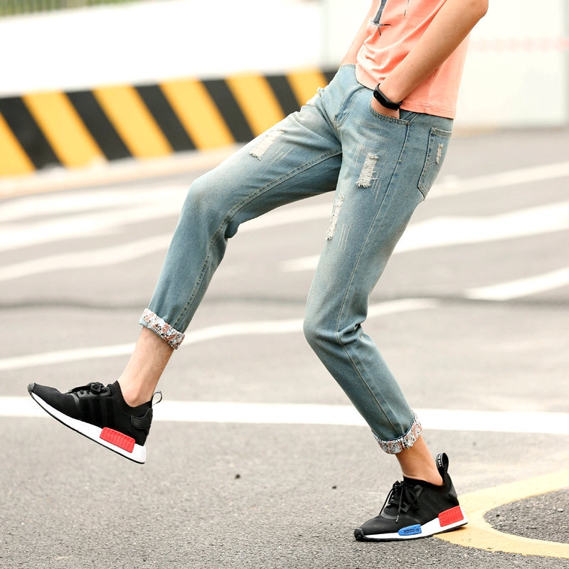 XMJshop.vn   pants men Britishdenim pant hot personalized men's clothing Thời Trang Nam > Quần > Quần Jean