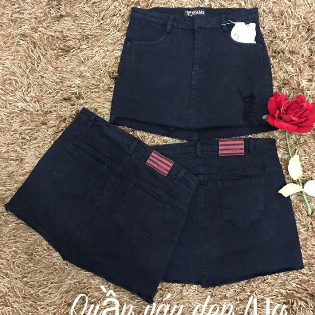 Chân váy jeans có quần trong