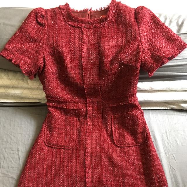 Thanh lý đầm tweed Linh Chi House