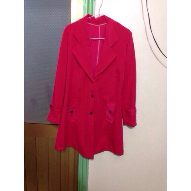 Ao khoác co vest From dài