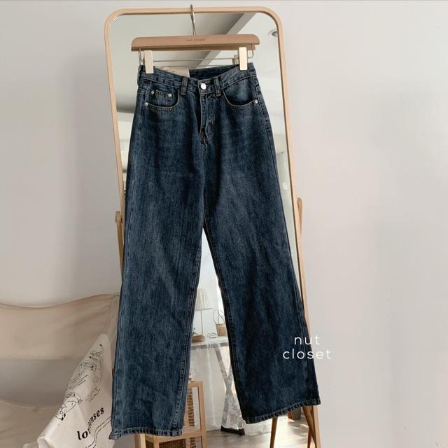 Quần Jeans Ống đứng_Q837