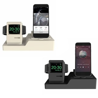 3 In 1 Charging Dock Desktop Phone Holder Stand Bracket Cradle For Iphone/Airpods/Aplle Watch NNV