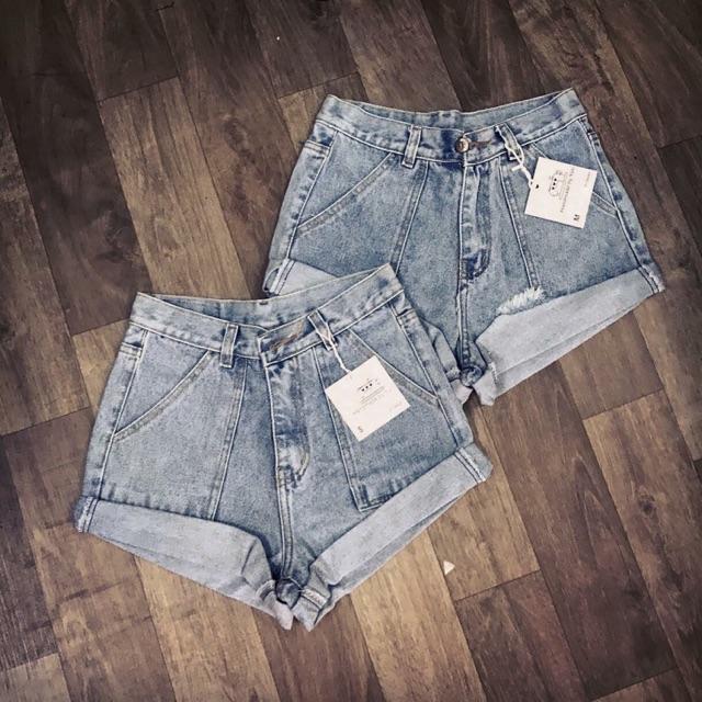 (kÈM ẢNH THẬT) Quần đùi jeans jrom đẹp