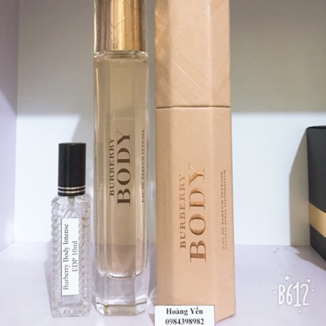 Nước hoa Burberry Intense EDP 10ml