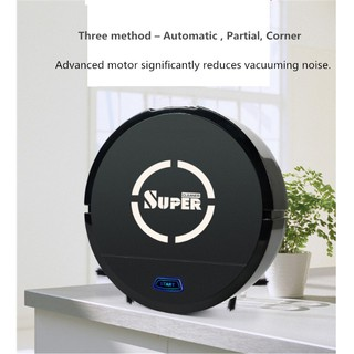 Robot hút bụi quét nhà SuperCleaner OneTouch (Black) - Home and Garden