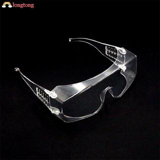 Clear Safety Goggles Work Eye Protection Wear Labour Working Protective Glasses Wind Dust Anti-fog LONG