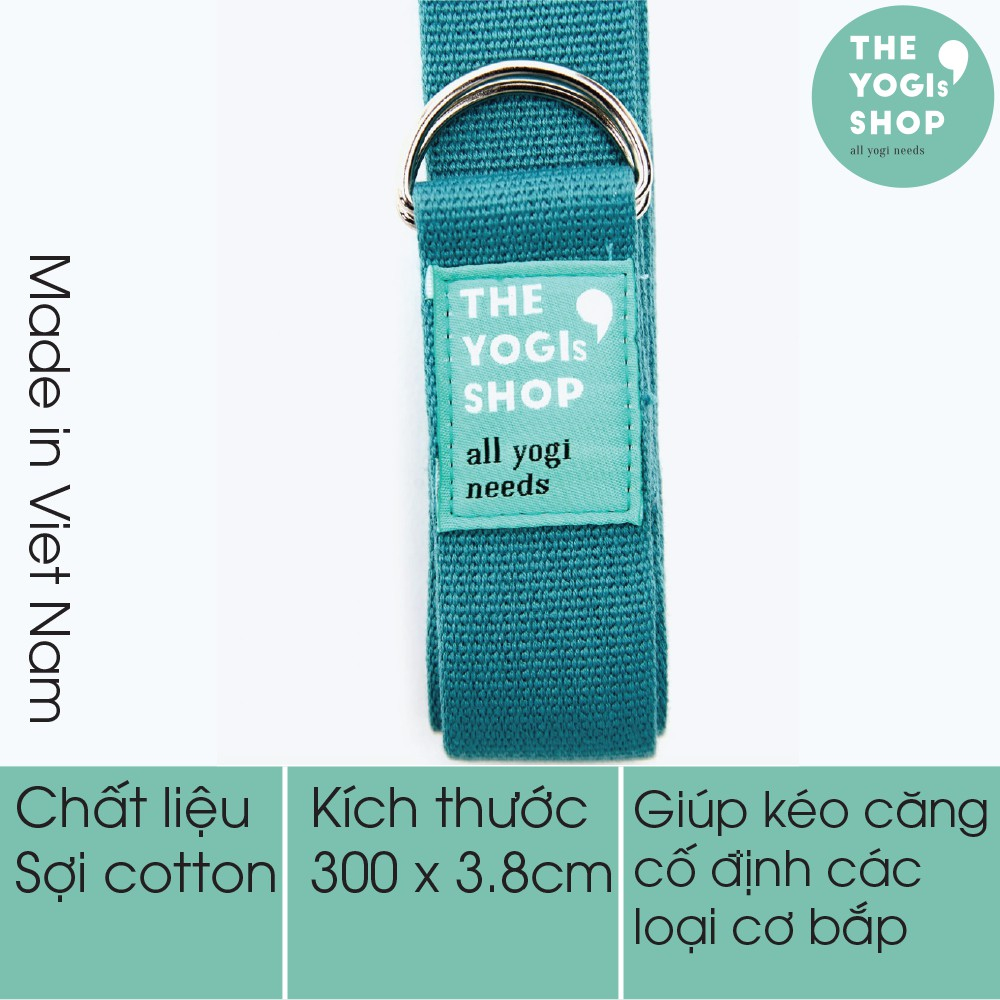 Dây tập Yoga Cotton 3m The Yogi's Sho