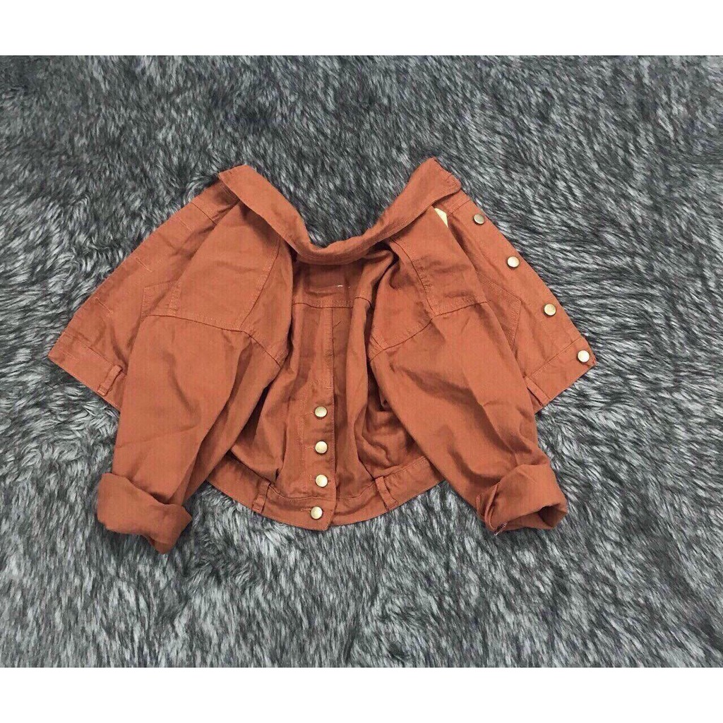 Áo khoác kaki jean nữJulido , áo khoác nữ cao cấp J217