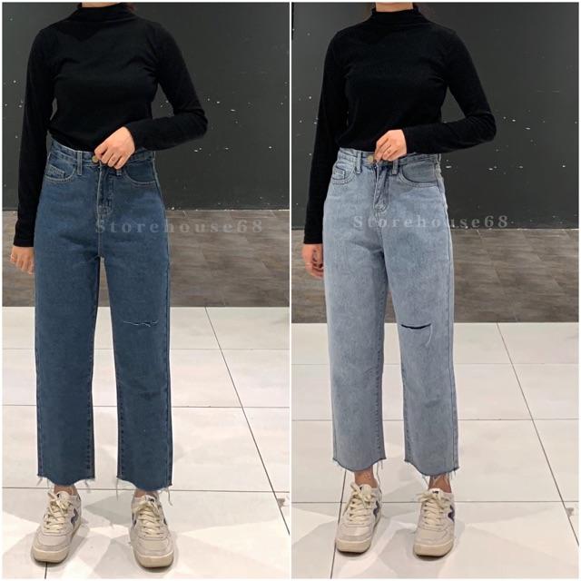 Quần Jeans mã 313 (suông vừa)