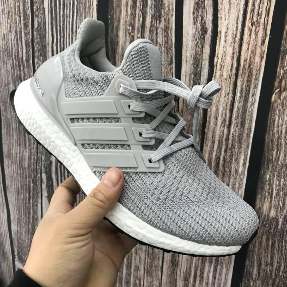 Giày Thể Thao ultra boost 4.0 xám_SHOPQM