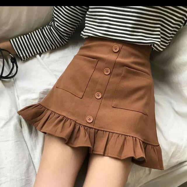 Chân váy vải, jean