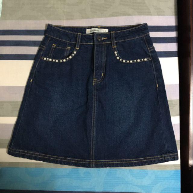 Chân váy jeans Elise