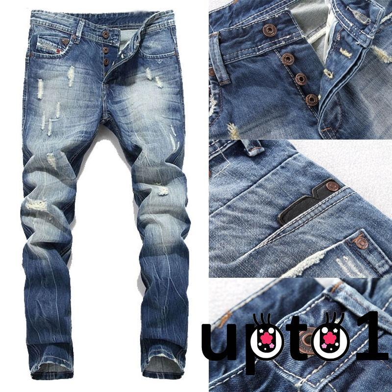Quần jeans nam phong cách vintage cá tính