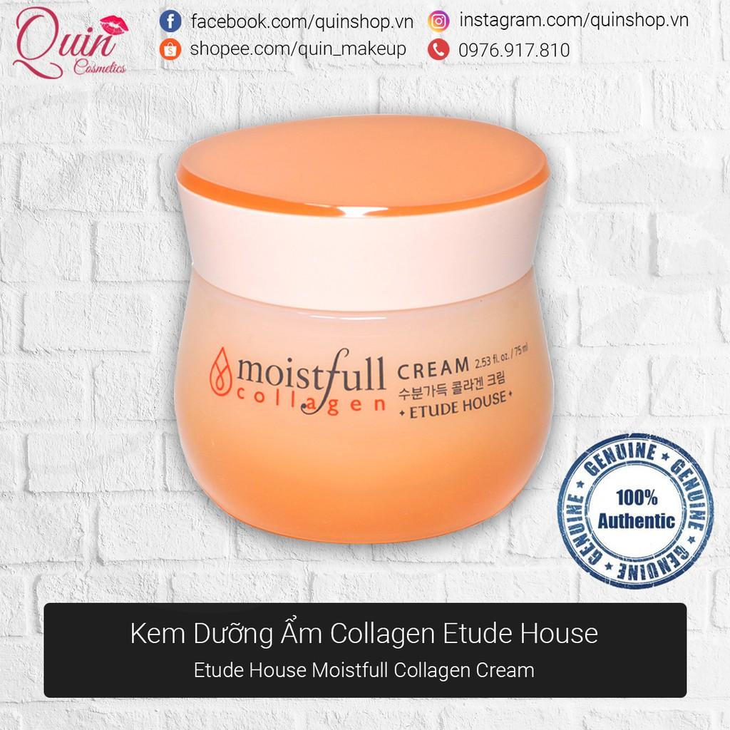[Quin Cosmetics] Kem Dưỡng Ẩm Moistfull Collagen Deep Cream Etude House