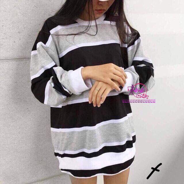 Áo thun sọc tay dài ( chất cotton xịn ) _ MT26 M/L