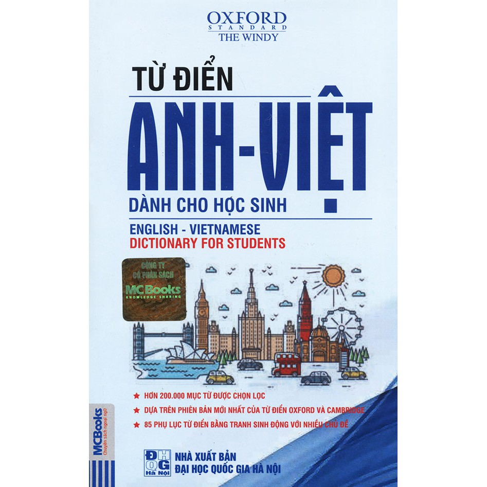 Sách - Từ điển Anh - Việt dành cho học sinh - The Windy (bìa ngẫu nhiên)