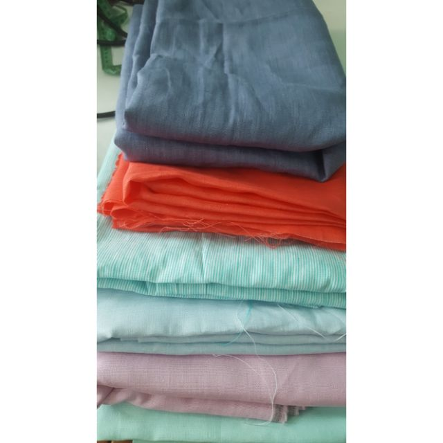 Vải linen may mặc