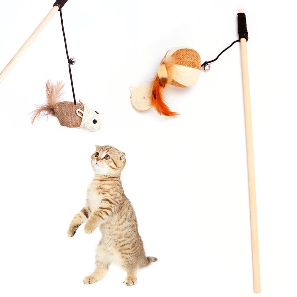 Đồ chơi dành cho mèo hình chuột, bóng