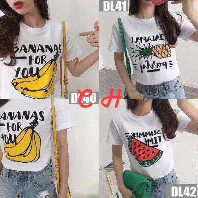 Áo phông hoa quả