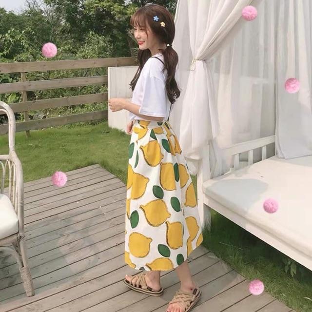 Set chân váy xoài siêu xinh