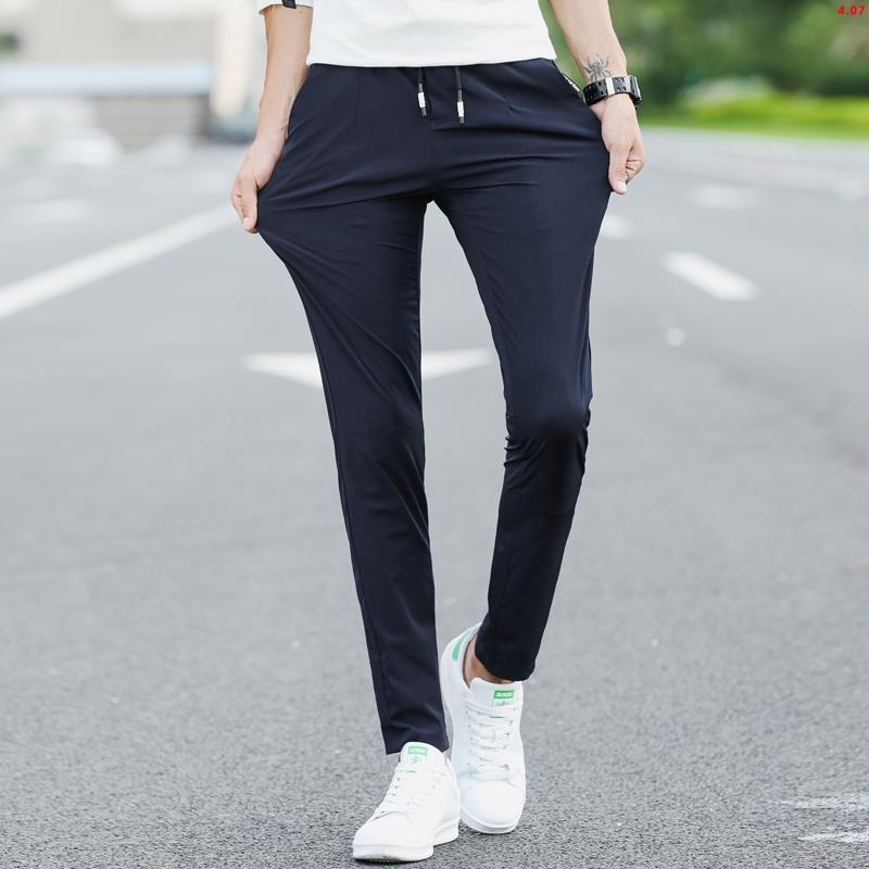 Quần Jeans Cotton Thoáng Khí Có Túi Bên Hông Thời Trang Cho Nam