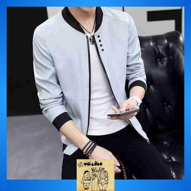 Áo Khoác Kaki Nam Cao Cấp 2 Lớp Dày,áo khoác kaki nam in hình đẹp