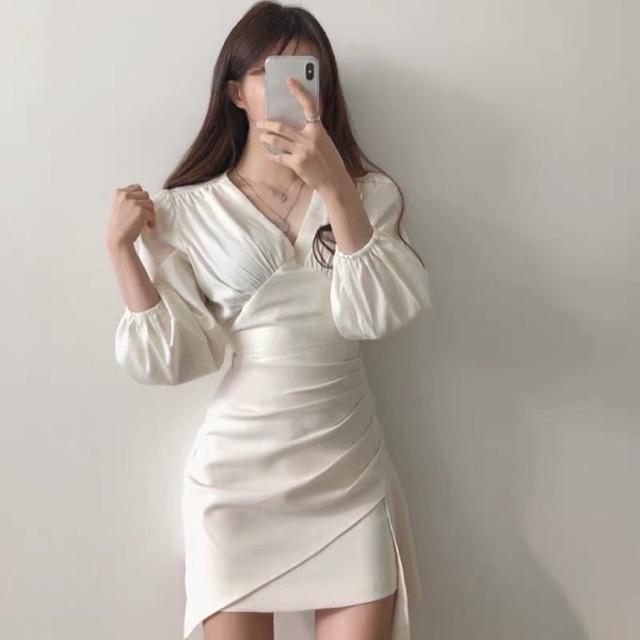 [ ORDER] Set váy + chân váy ôm xiết eo
