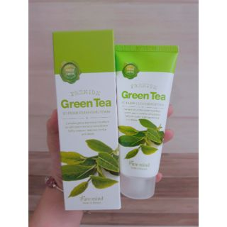 Sữa rửa mặt Pure mind Premium Green Tea Cleansing Foam 100ml