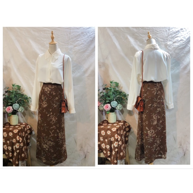 Chân váy vintage Nhật