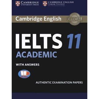 Sách Cambridge IELTS 11 - Academic