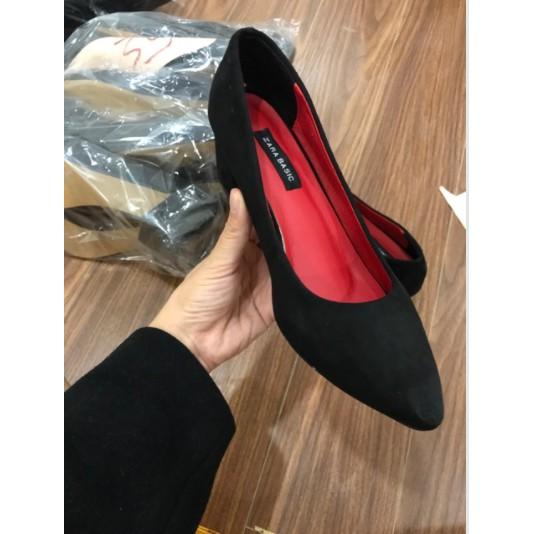 Giày cao trơn 5cm