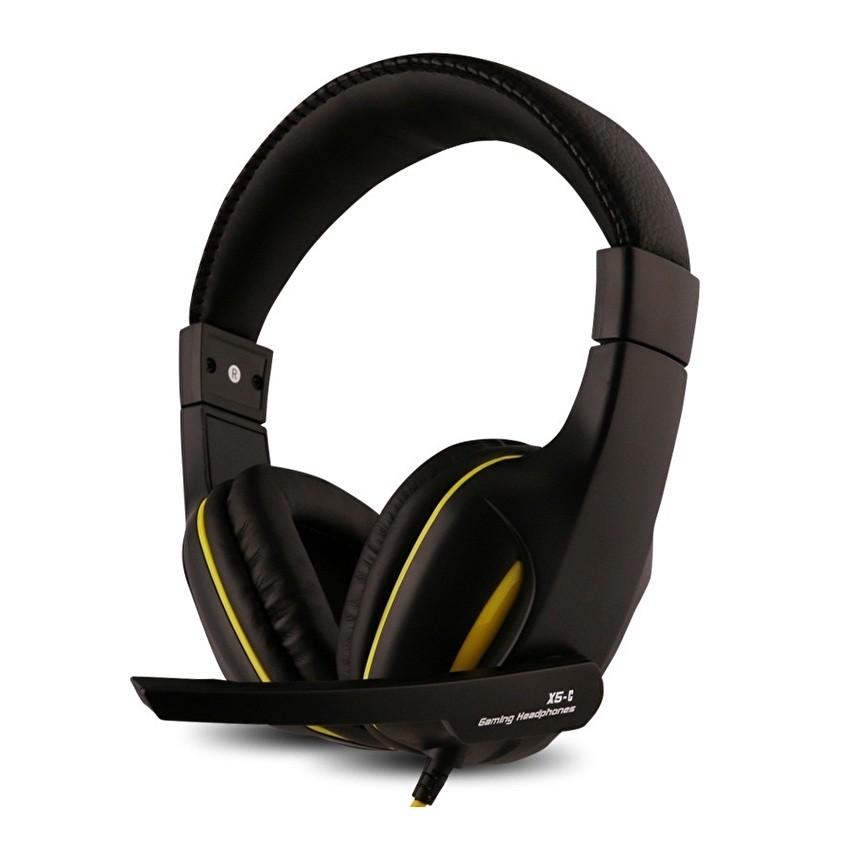 Tai nghe chụp tai có mic Ovann X5-C Pro Gaming (Đen)