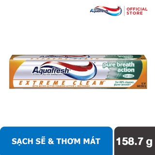 Kem đánh răng Aquafresh Extreme Clean Pure Breath 158.7 gr