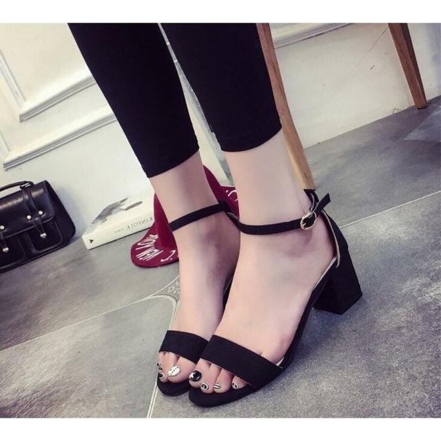 Sandal da lộn 3p