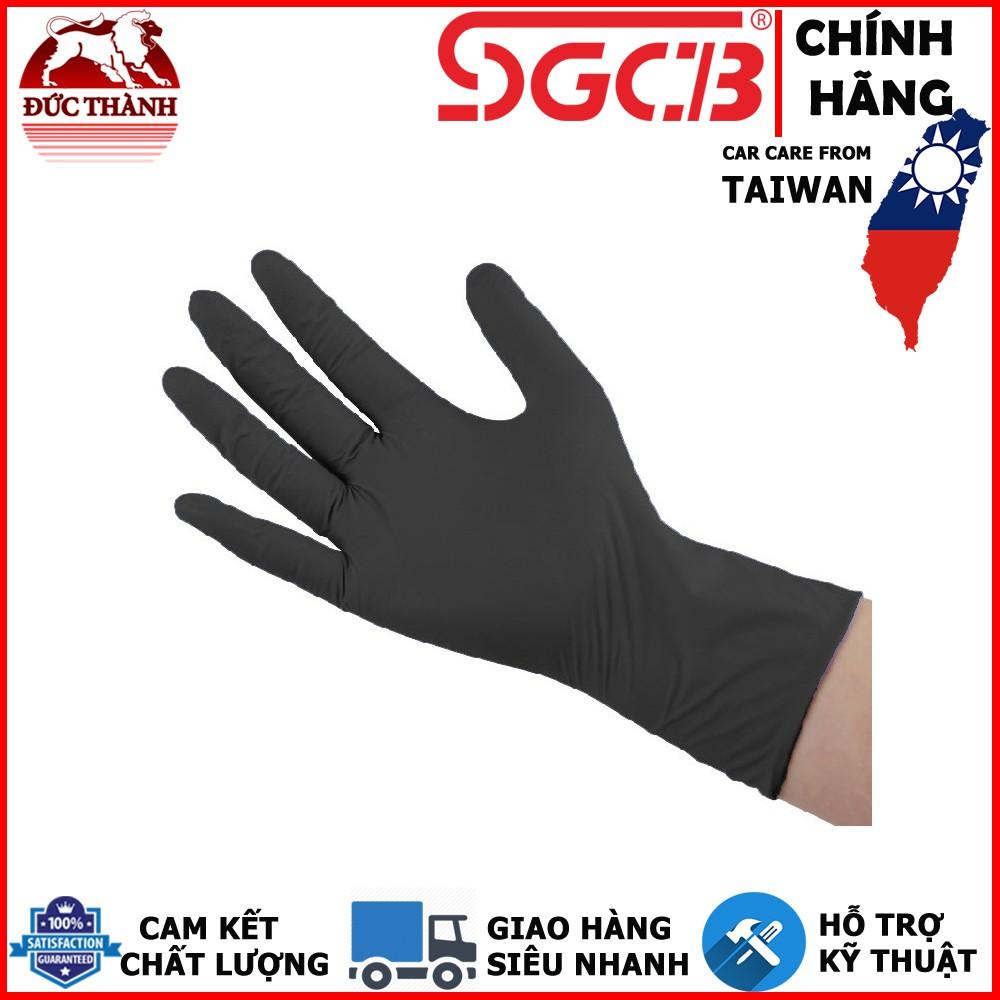 Hộp 100 cái găng tay cao su detailing chuyên nghiệp SGCB SGGD042 ducthanhauto