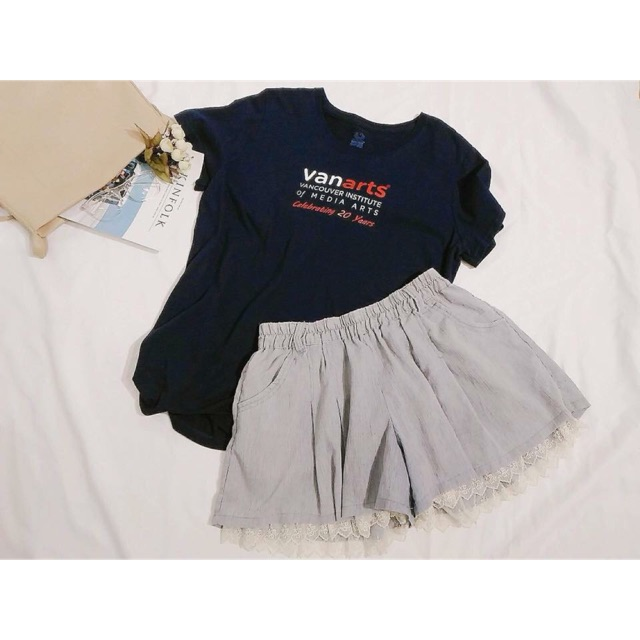 1244316475 - Sét áo phông chân váy xoè