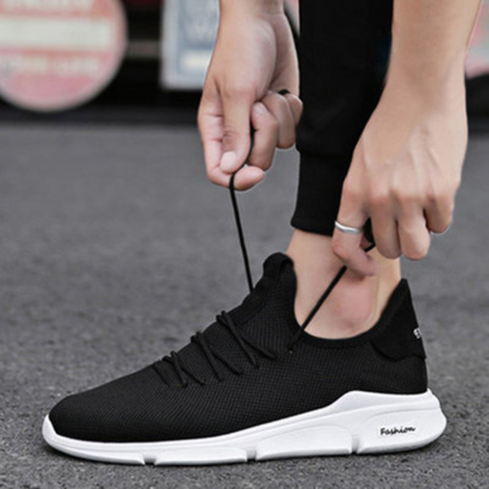 Sneaker Shoes Casual Sports Athletic Outdoor Running Trainers Breathable White