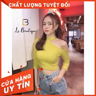 [HOT]Áo Lệch Vai Chocker LA 195
